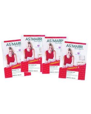 FILM TRASPARENTE LUCIDO ADESIVO MM.0,07 A4 FG.15 PACT MARRI 8446 8446 by As Marri