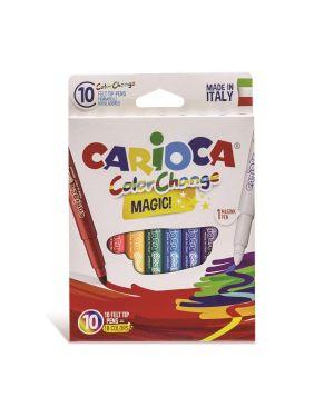 Pennarello carioca color change pz.10 CARIOCA 42737 8003511427771 42737