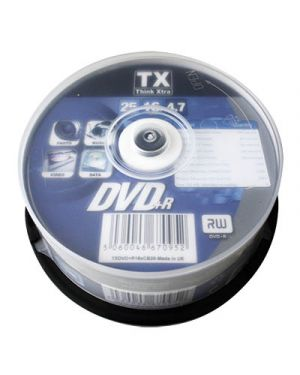 DVD+R 4.7 GB THINK XTRA CAMPANA PZ.25 270101