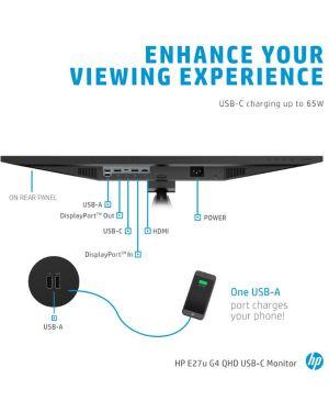 E27u g4 qhd usb-c monitor HP Inc 189T3AT 195122124854 189T3AT
