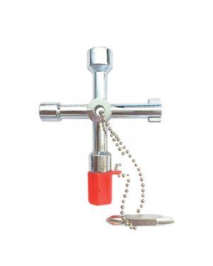 Chiave universale x centraline quadri,cassette acqua e gas KRINO 65014001 8014249387886 65014001