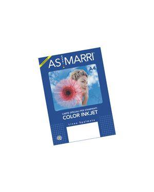 CARTA COLOR GRAPHIC SPALMATA GR.140 A4 FG.50 MARRI 8623 8623 by As Marri