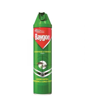 Baygon insetticida scarafaggi - formiche spray ml.400 BAYGON 107327 8002030142554 107327