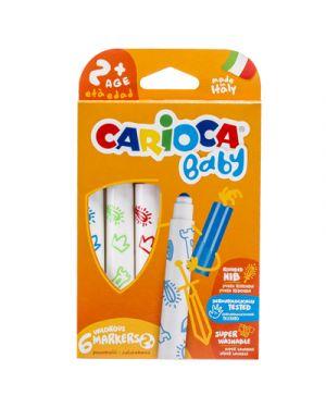 Pennarelli carioca super baby 6 CARIOCA 42813 8003511432232 42813 by No