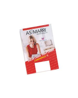 Film bianco adesivo mm.0,075 a4 fg.15  pawf marri 8447 AS MARRI 8447 8023927084474 8447
