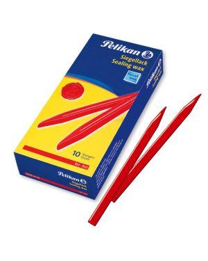 Ceralacca rossa 4 - 10 pelikan 400g fine per lettere - 10 stecche 361287 4012700361196 361287 by Pelikan