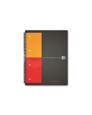 Blocco spiralato oxford notebook a4 con fori fg.80 gr.80 1r OXFORD 100104036 3020120012025 100104036 by Oxford