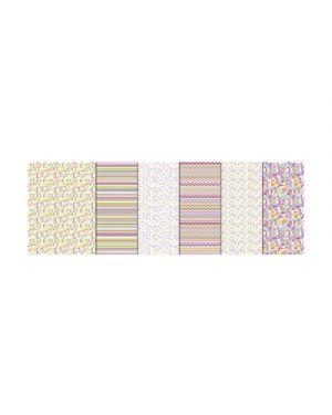 Carta bricolage in blocco piccolo 300g 24x34cm fg.18 ass URSUS 13250099 4008525148609 13250099