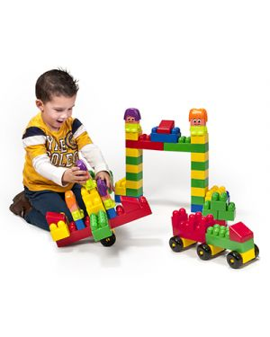 BOX COSTRUZIONI SUPER BLOCKS PZ 96 32338 by No