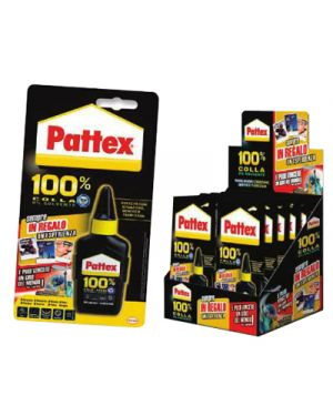 COLLA LIQUIDA PATTEX 100% COLLA GR.50 1990116