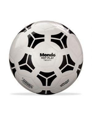 Pallone in gomma hot play diametro 230 bianco MONDO 1047 8001011010547 1047 by No
