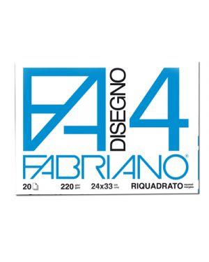 CARTELLA DISEGNO FA4 24X33 FG.20 L/SQ. 5201597 by Fabriano