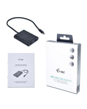 Usb-c dual hdmi 2x hdmi 4k ultra hd I-Tec C31DUAL4KHDMI 8595611702020 C31DUAL4KHDMI