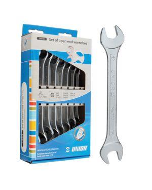 Chiave a forchetta in acciaio pz.12 mm.6-32 in scatola di cartone UNIOR 603714 3838909037141 603714