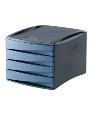 Cassettiera green2desk 4 cassetti cm. 25x28.6x37 carta da zucchero FELLOWES 19201 0043859654956 19201