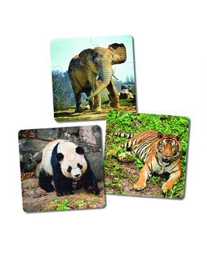 Puzzle animali progressivi MINILAND 36060 8413082360603 36060 by No