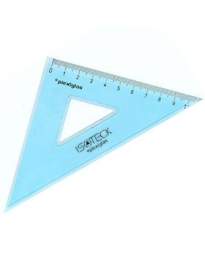 Squadra isotek tecnica in plexiglas 16/45 73016