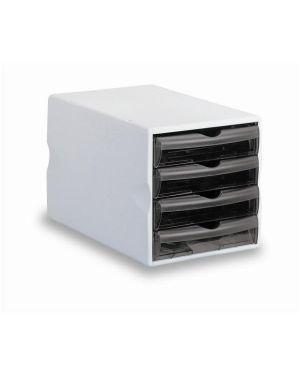 Cassettiera modula 4 cassetti big cm.25x37x25 grigio grafite FELLOWES 24055 8015687003734 24055