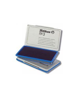 Cuscinetto pelikan inchiostrato n.3 blu 331165