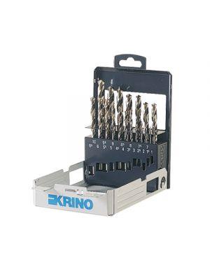 Punte trapano per metalli pz.19 assortite in astuccio KRINO 1075401 8014249038962 1075401