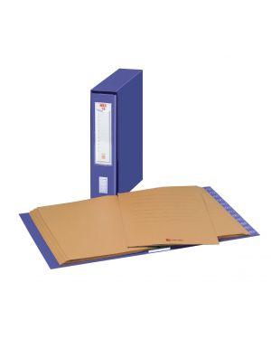 Classificatore numerico mec 12 blu 23x32cm, dorso 7cm 11304 29307AA 11304 by No