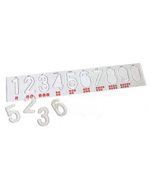 Banda dei numeri in plexiglass cm. 50x9 CWR 10371 8004957103717 10371