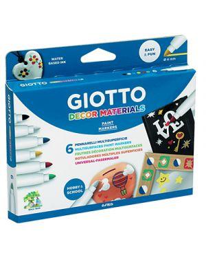 Pennarelli giotto decor materials 6 GIOTTO 453300 8000825453304 453300 by Giotto
