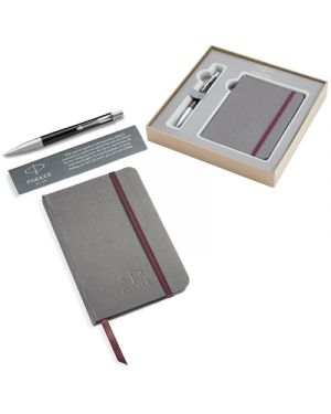 Gift set parker urban premium ebony metal ct sfera & notebook PARKER 2010768 3026980107680 2010768