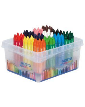 Pastelli cera giotto maxi schoolpack pz.96 da 8x12 colori GIOTTO 524700 8000825005893 524700 by Giotto