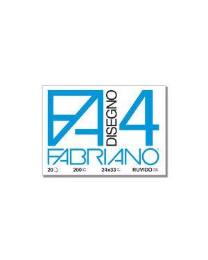 CARTELLA DISEGNO FA4 24X33 FG.20 RUVIDO 5000597 by Fabriano