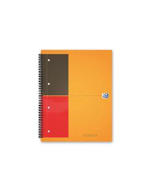 Blocco spiralato oxford notebook a4 con fori fg.80 gr.80 5m 100103664