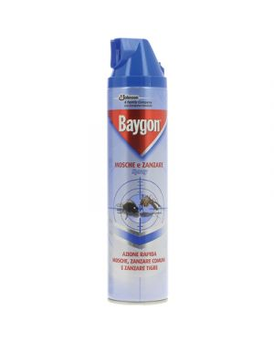Baygon mosche e zanzare spray ml.400 BAYGON 105832 8002030142356 105832