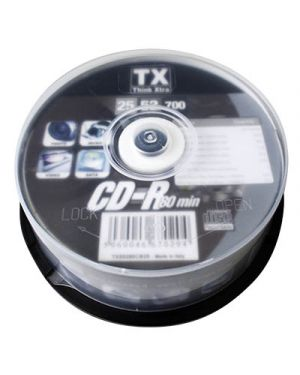 Cd r 80 min. 700 mb think xtra campana pz.25 902940