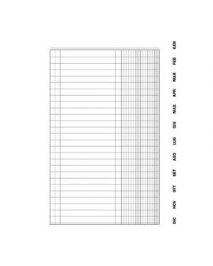 Scadenziario gennaio - dicembre flex c - spirale 8 pagine per mese 15,5x21 FLEX 134648000 8010838017738 134648000