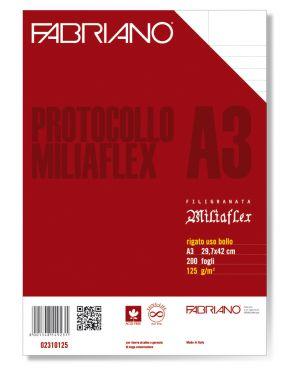 Protocollo a4 uso bollo 200fg 125gr fabriano 2310125 8001348149231 2310125 by Fabriano