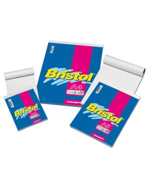 Blocco notes bristol fg.60 a4 5m gr.50 BLASETTI 1034 8007758012295 1034 by Blasetti