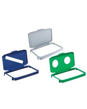 Coperchio fisso per cestino durabin 60 2 fori per vetro DURABLE 1800501020 4005546107608 1800501020 by Durable