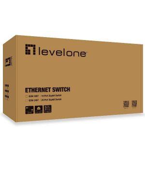 24-port gigabit ethernet switch Level One GSW-2457 4015867143124 GSW-2457