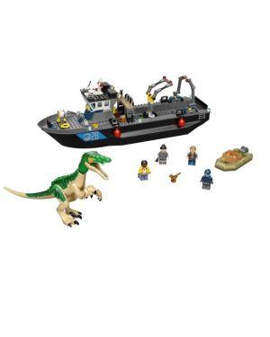 Fuga sulla barca dinosauro baryonyx Lego 76942 5702017079752 76942