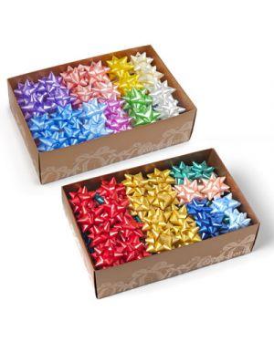 Stella adesiva starlight liscia mm.19 pezzi 70 colori assortiti 3200
