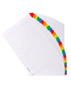 Intercalare bianco 31 tacche multicolori numerate EXACOMPTA 1131 3130630011316 1131