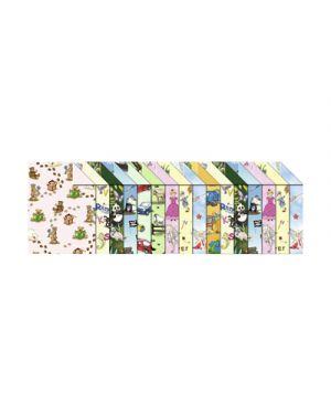 Carta bricolage in blocco fantasia bambini 300g 24x34cm fg.16 ass URSUS 12840099 4008525029779 12840099 by No