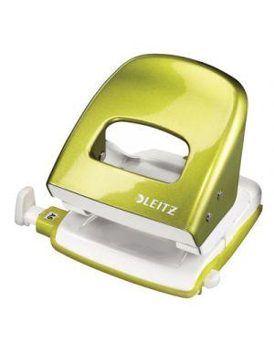 Perforatore leitz 5008 wow verde metallizzato 50081164 by Leitz