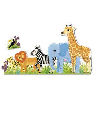 Puzzle xxl selva da piccolo a grande GOULA 53426 8410446534267 53426
