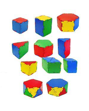Costruzioni geometriche in 3d pz 84 MINILAND 32123 8413082321239 32123 by No