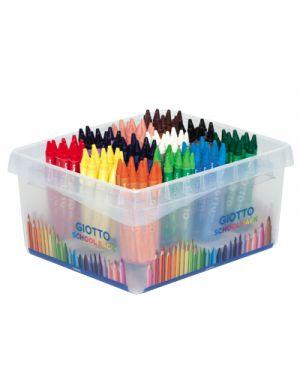 Pastelli cera giotto schoolpack pz.144 da 12x12 colori GIOTTO 524300 8000825005879 524300 by Giotto