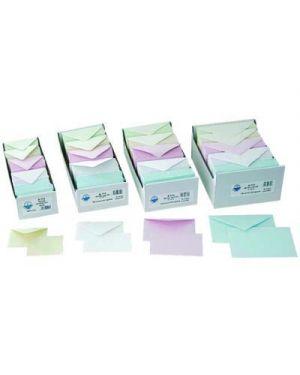 Biglietti e buste f.to 4 colori tenui - forti pz.100 - 100 KARTOS 2003415 8009162025441 2003415