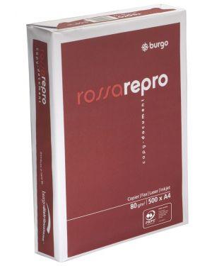 Carta fotocopie repro rosso gr.80 a4 fg.500 BURGO 8133 8021047441016 8133 by Burgo