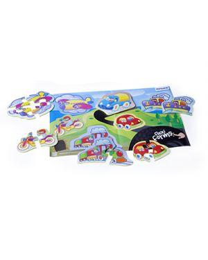 Puzzle flessibile soggetto mezzi di trasporto MINILAND 35231 8413082352318 35231 by No