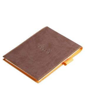 Portabl c - bl 1r 12.7x9.3 cioccolato Rhodia 128203C 3037921282038 128203C